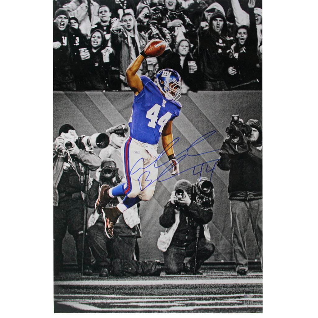 Steiner Sports Ahmad Bradshaw Spike 11'' x 16 1/2'' Signed Photo
