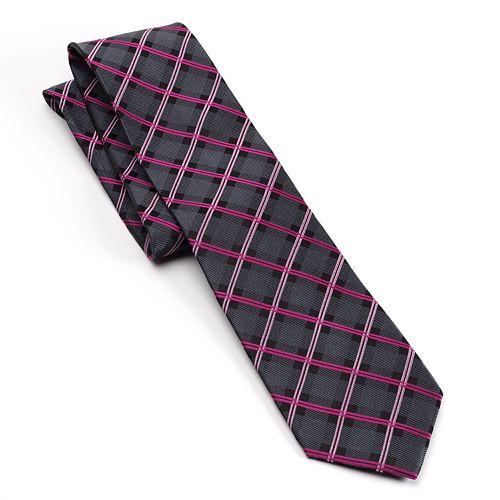 Men's Croft & Barrow® Plaid Tie