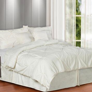 Pintuck Plush 7-pc. Comforter Set - King