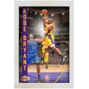 Steiner Sports Kobe Bryant Los Angeles Lakers Pop Out 20'' x 32'' Framed Collage