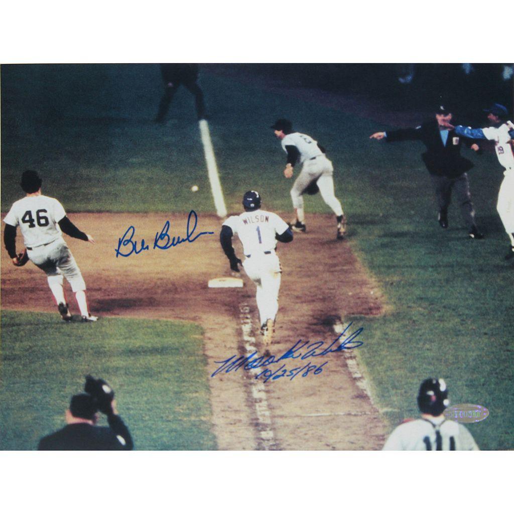 Steiner Sports Mookie Wilson and Bill Buckner 8'' x 10'' Signed Photo