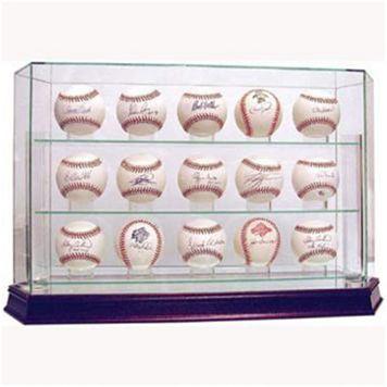 Steiner Sports 15-Ball Glass Baseball Display Case