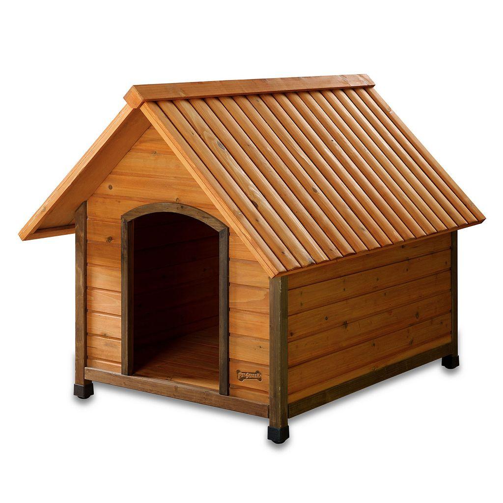 Pet Squeak Arf Frame Dog House - Large