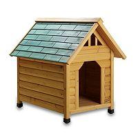 Pet Squeak Alpine Lodge Dog House - Small