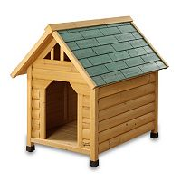 Pet Squeak Alpine Lodge Dog House - Medium