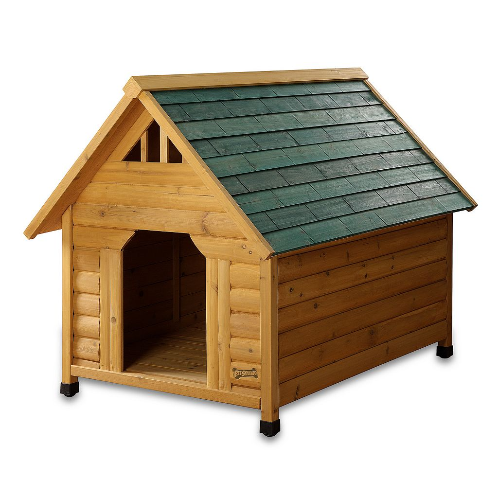 Pet Squeak Alpine Lodge Dog House - Large