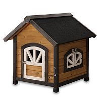 Pet Squeak Doggy Den Dog House - Small