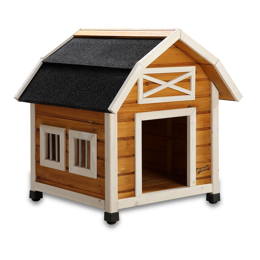 Pet Squeak The Barn Dog House - Small