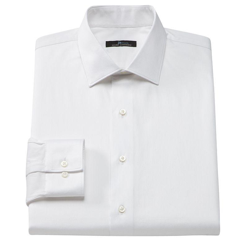 Cotton blend dress shirt kohl 39 s for Tony collar dress shirt