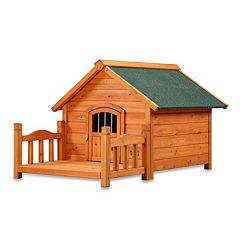 Pet Squeak Porch Pups Dog House - Small