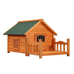 Pet Squeak Porch Pups Dog House - Medium