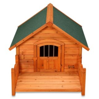 Pet Squeak Porch Pups Dog House - Large