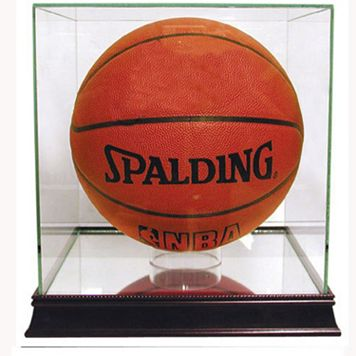 Steiner Sports Glass Basketball Display Case