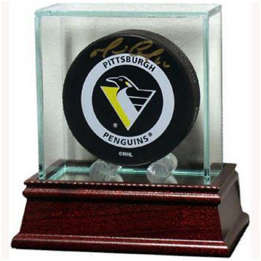 Steiner Sports Glass Hockey Puck Display Case