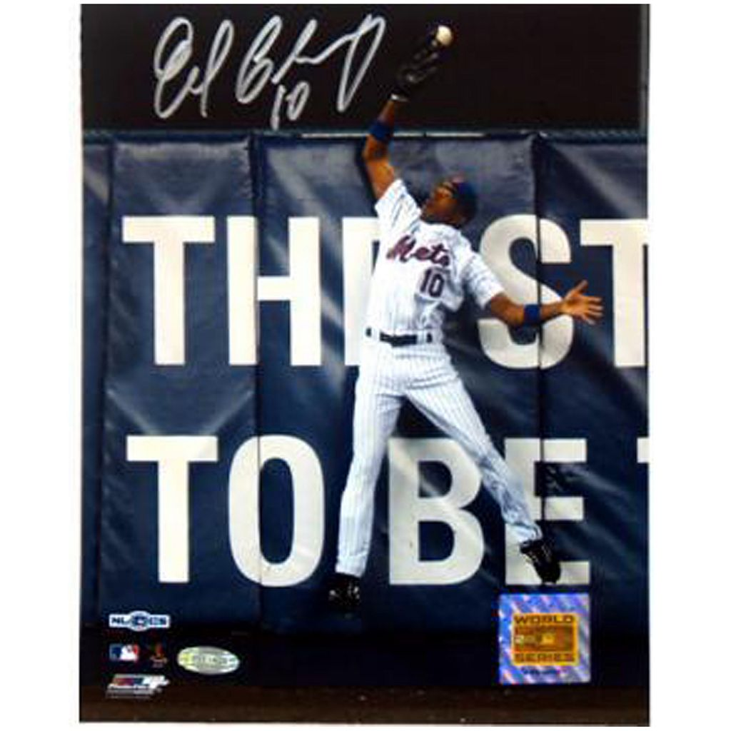 Steiner Sports Endy Chavez NLCS Game 7 Robbing Home Run 8'' x 10'' Signed Photo