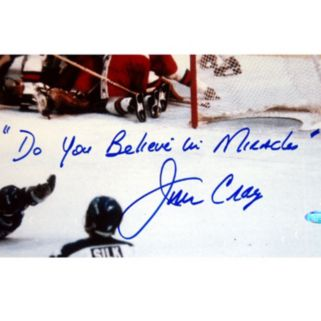 Steiner Sports Jim Craig 1980 USA Celebration 16'' x 20'' Signed Photo