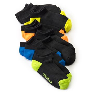 Boys Tek Gear® 6-Pack Performance No-Show Socks