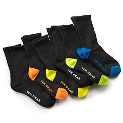 Boys Tek Gear® 6-Pack Performance Crew Socks