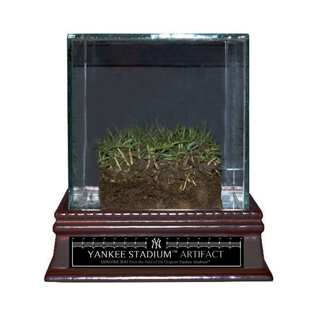 Steiner Sports Authentic Yankee Stadium ''Freeze Dried Grass'' Sod with Glass Display Case