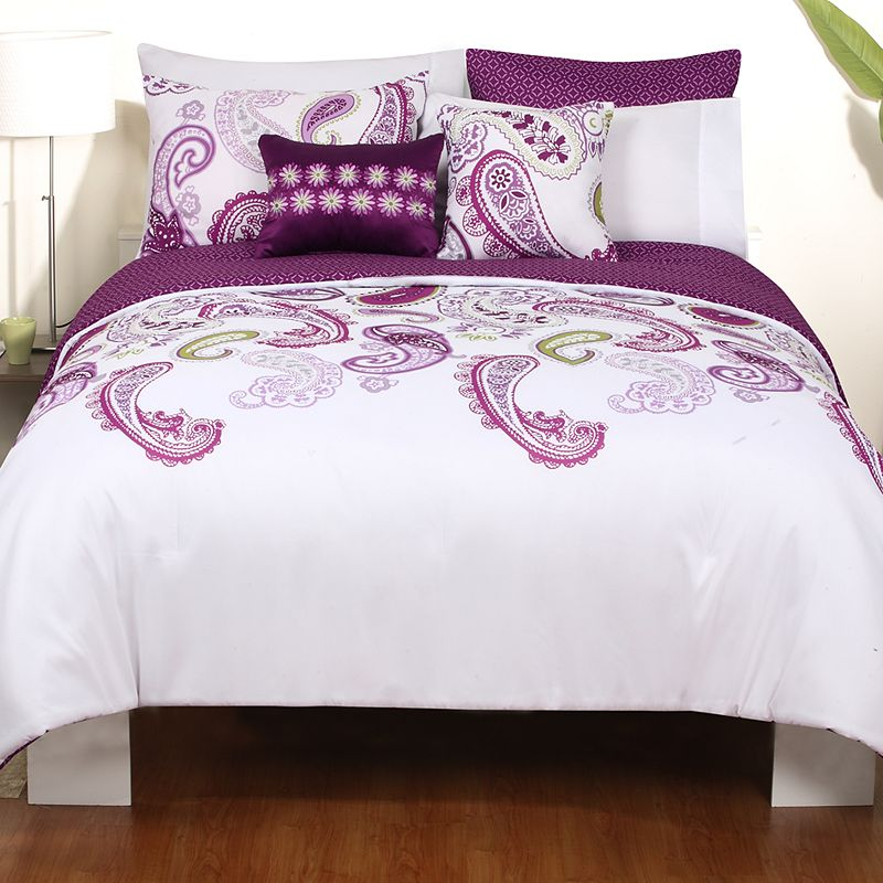 Zoe 5-pc. Reversible Comforter Set - King