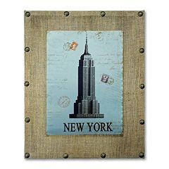 'New York' Aluminum Wall Art