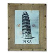 """""""Pisa"""" Aluminum Wall Art"""