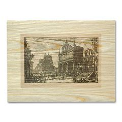 'Ancient Cities Square' Wall Art