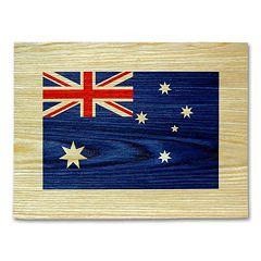 'Australian Flag' Wall Art