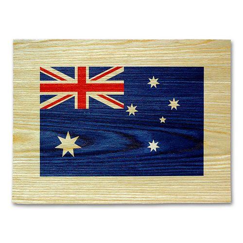 """Australian Flag"" Wall Art"