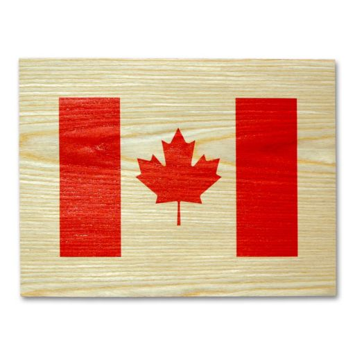 Canadian Flag Wall Art