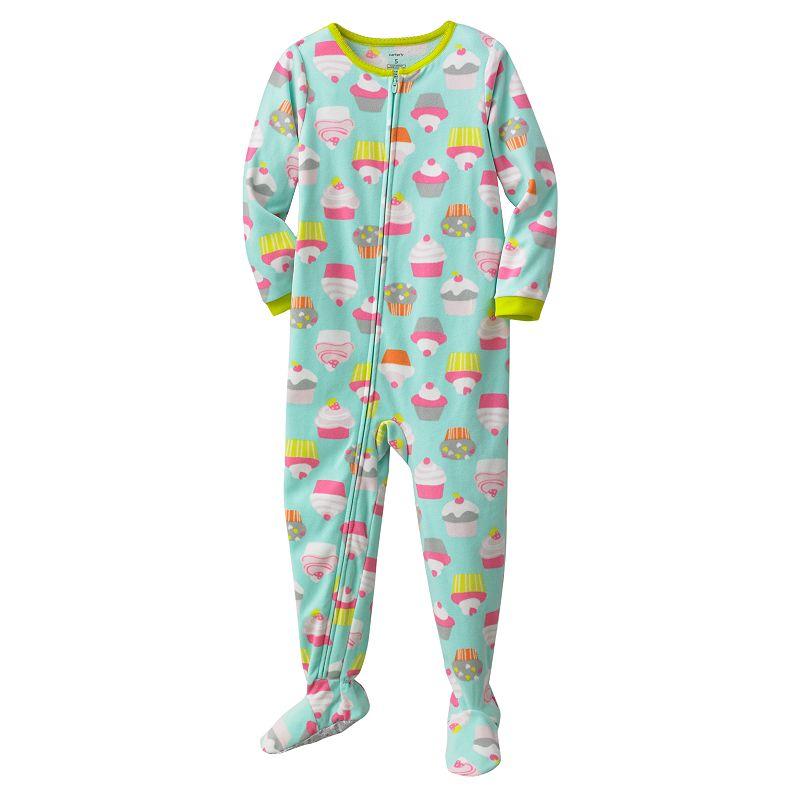 Kohls.com Carter's Carter's Reindeer Footed Pajamas - Girls ...