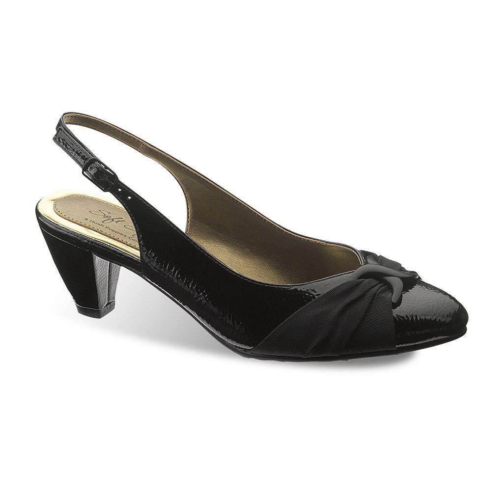Soft Style by Hush Puppies Dezarae Women's Slingback Dress Heels