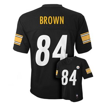 Boys 8-20 Pittsburgh Steelers Antonio Brown NFL Replica Jersey