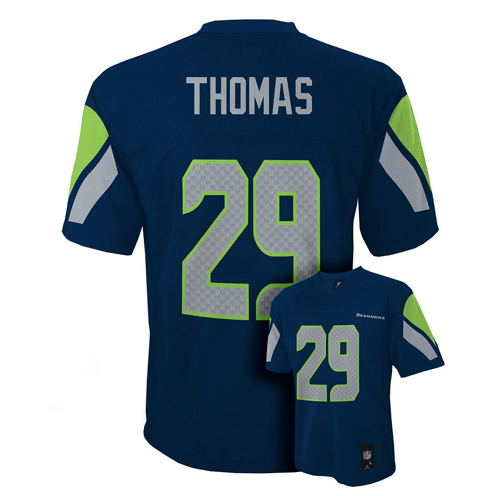 Boys 8-20 Seattle Seahawks Earl Thomas NFL Replica Jersey