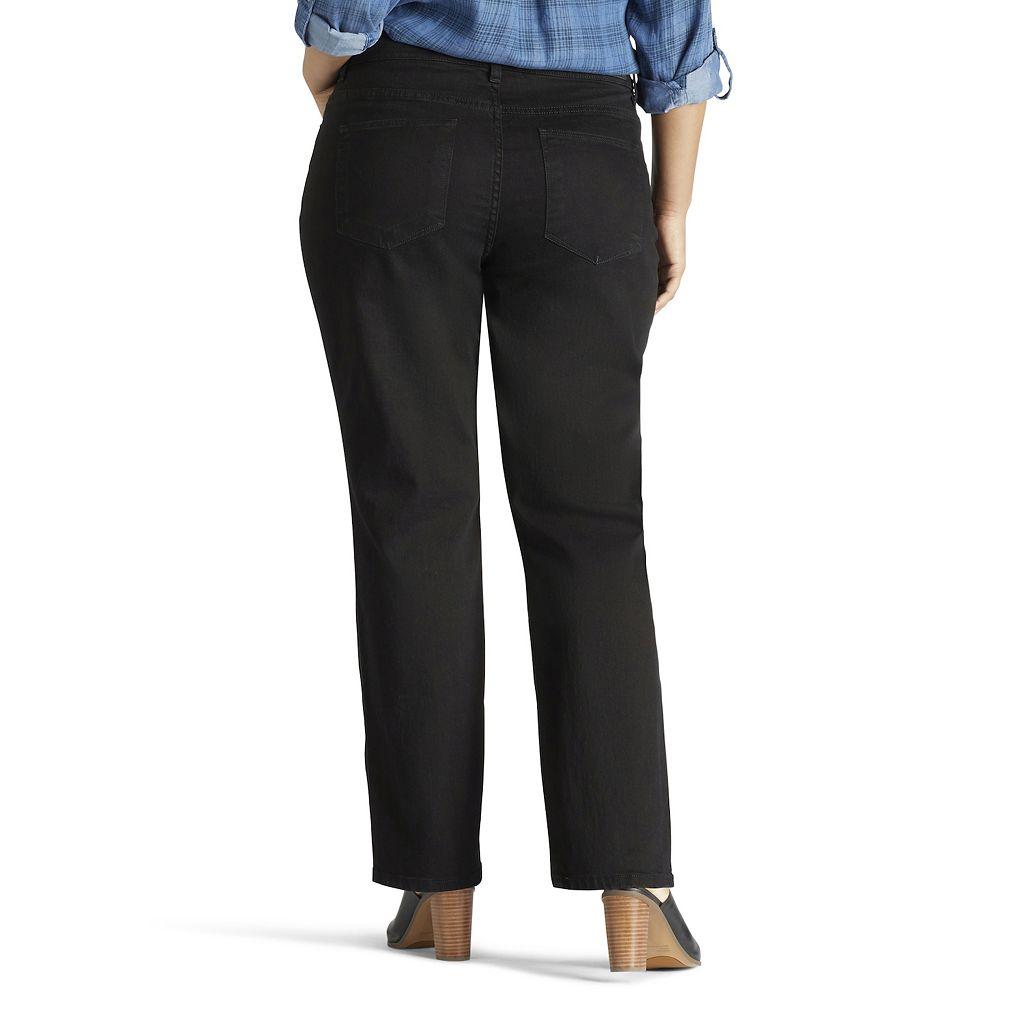 Plus Size Lee Monroe Classic Fit Straight-Leg Jeans