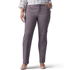 Plus Size Lee Instantly Slims Straight-Leg Jeans