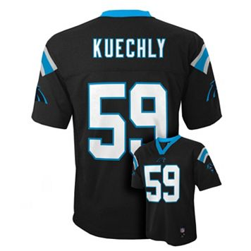 Boys 8-20 Carolina Panthers Luke Kuechly NFL Replica Jersey