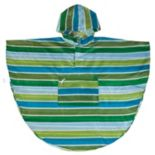 Wildkin Cool Stripes Poncho - Kids 4-7