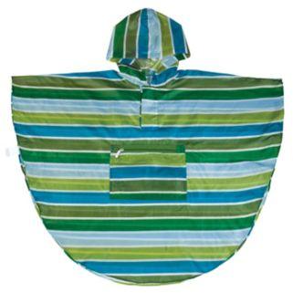 Wildkin Cool Stripes Poncho - Kids 4-7