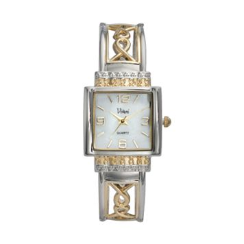 Vivani Women's Two Tone Bangle Watch