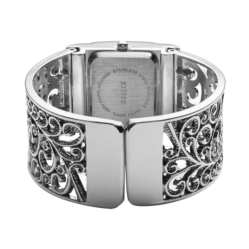 Vivani Women's Filigree Bangle Watch