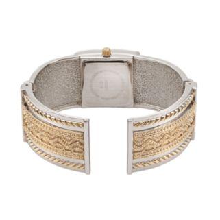 Vivani Women's Textured Bangle Watch