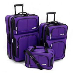 Leisure Trio 3 pc Luggage Set