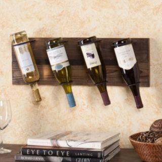 Elmont 4-Bottle Wall-Mount Wine Rack