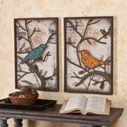 Fenworth Bird 2 pc Wall Panel Set