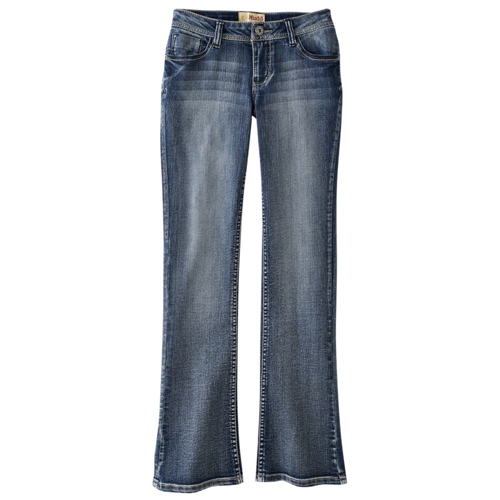 7-16 & plus size mudd® bootcut jeans