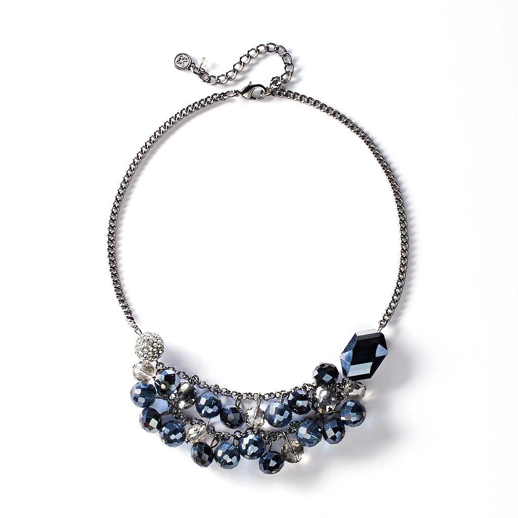 Simply Vera Vera Wang Bead Swag Necklace