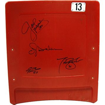 Steiner Sports New York Giants Running Back Greats Signed Seat Back