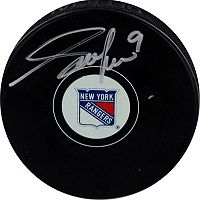 Steiner Sports Adam Graves New York Rangers Autographed Hockey Puck