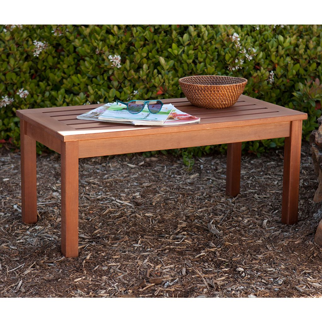 Alala Outdoor Hardwood Coffee Table